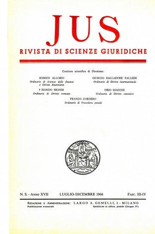 Controversia giuridica e questione filosofica