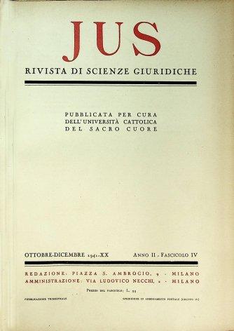 Discorso di S.S.Pio XII per l'inaugurazione del nuovo anno giuridico del Tribunale della S.R.Rota (4 ottobre 1941)