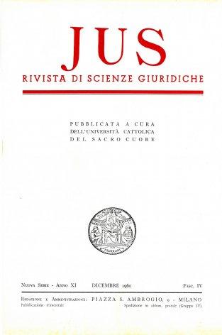 Il diritto naturale nell'insegnamento di Pio XII