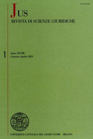 JUS - 2001 - 1