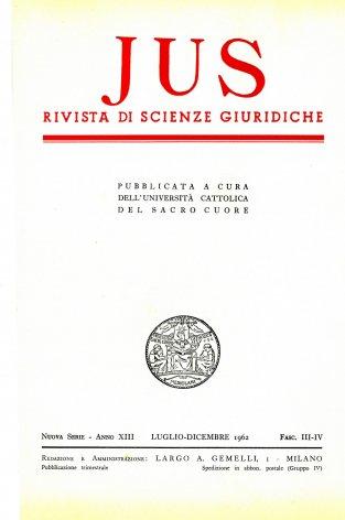 L'apporto di Papa Benedetto XIV alla dottrina e alla disciplina del matrimonio