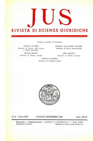 Origine e scopo della coazione nel matrimonio canonico «ex metu»
