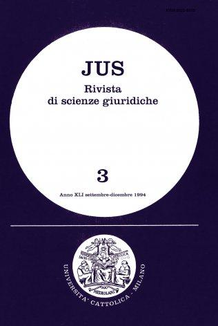 Portata politica e rilevanza giuridica del principio di sussidiarietà
