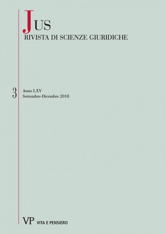 Rapporto di causalità – Rapporti di causalità: riflessioni 'frammentarie' tra diritto penale moderno e giurisprudenza romana
