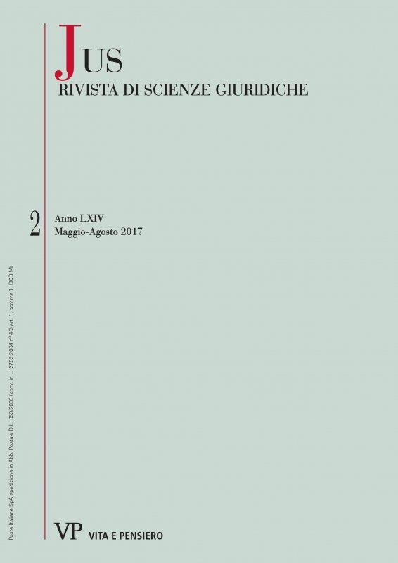 Jus : rivista di scienze giuridiche